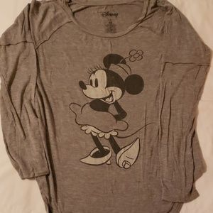 Minnie mouse long sleeve shirt